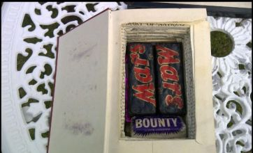Book's chocolate surprise revealed on Antiques Roadshow