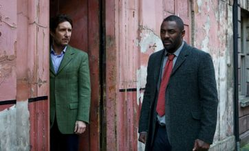 Luther solves crimes with gut feeling and whimsy