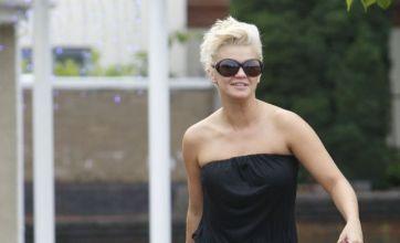 Kerry Katona to become homeless as she ogles strippers