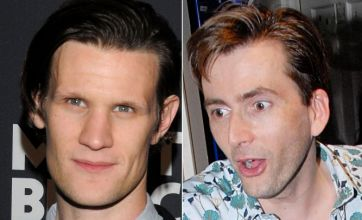 Past and present Doctors do battle as Matt Smith faces David Tennant