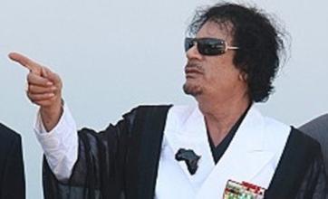 Colonel Gaddafi threatens attacks in Europe
