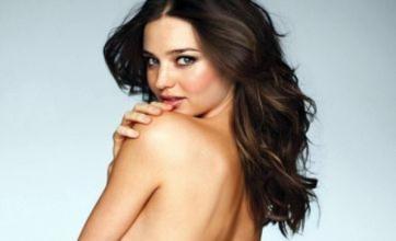 Miranda Kerr goes topless for new Victoria's Secret lingerie shoot