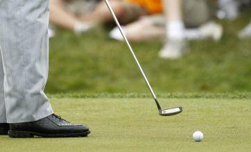 Coming to a golf course near you soon, a Yi gan jin dong