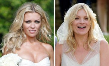 Abbey Clancy v Kate Moss: Celebrity Wedding Face Off