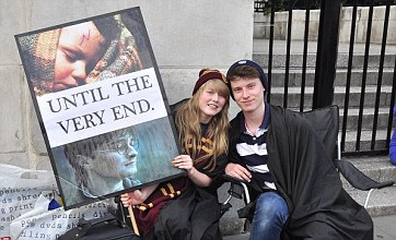 Harry Potter fans already queuing up for Thursday's Deathly Hallows: Part 2 premiere