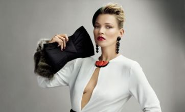 Newly wed Kate Moss rocks the 1950s look in Vogue