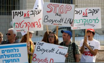 Facebook and Twitter used by Israel to bar pro-Palestine protest groups