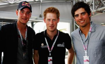 Alastair Cook: After relaxing with Prince Harry I'm ready to face India