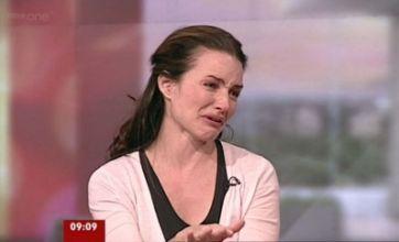 Kristin Davis breaks down in tears on BBC Breakfast over refugee crisis