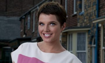 Helen Flanagan goes back to brunette to film Corrie's answer to TOWIE