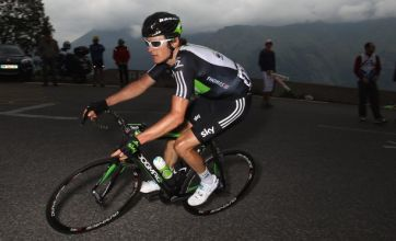 Geraint Thomas loses out on €5000 'beer money' after falling twice