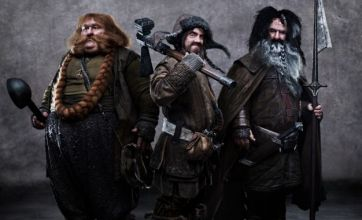James Nesbitt is transformed into a dwarf in new image from The Hobbit