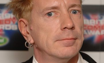 Johnny Rotten cried for his wife after his house burnt down