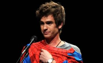 Spider-Man 'saved' my life, emotional Andrew Garfield admits at Comic-Con