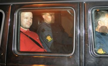 Pictured: Anders Breivik claims he has 'two more cells' in his network
