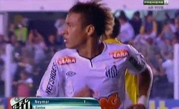 Video: Neymar scores dazzling goal, but Santos still manage to lose