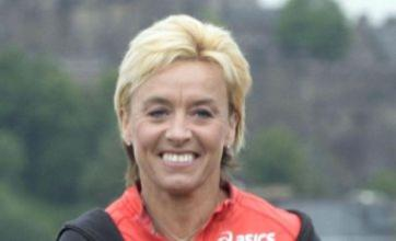 Liz McColgan denies attacking her husband Peter