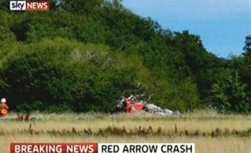Red Arrows pilot killed in Bournemouth crash named as Flt Lt Jon Egging