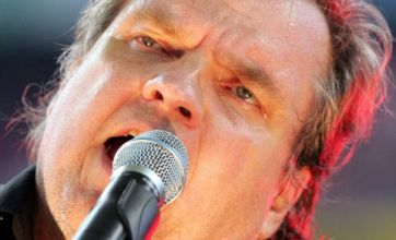 Meat Loaf collapses on stage after suffering asthma attack