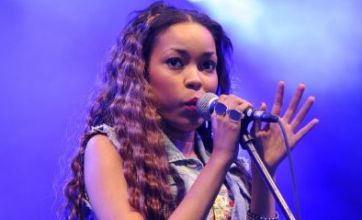Tearful Dionne Bromfield sings Amy Winehouse tribute at The Big Chill