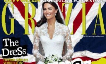 Kate Middleton wedding photo was airbrushed, Grazia admits