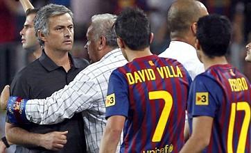 Jose Mourinho labels Barcelona a 'small club' after Supercopa spat
