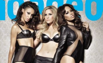 Saucy Sugababes sex it up in raunchy photoshoot