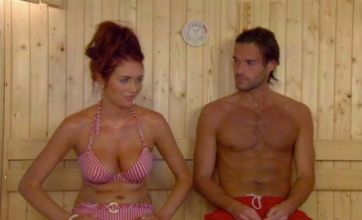 Amy Childs flirts with Lucien Laviscount on Celebrity Big Brother