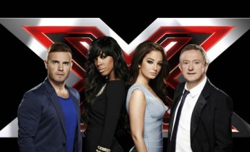 The X Factor saw Gary Barlow assume the role of Simon Cowell
