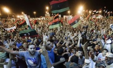 Jubilation as Gaddafi rule 'comes to an end'