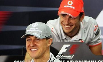 Jenson Button hoping he can match Schumacher's drive for longevity