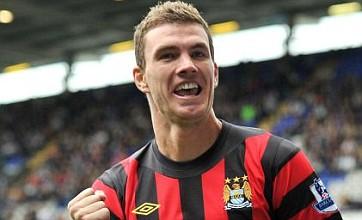 Edin Dzeko thanks Manchester City boss for keeping the faith