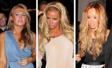 Katie Price and Lauren Goodger look worse for wear after Leandro's party