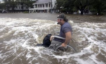Tropical storm Lee floods US as Barack Obama pledges aid