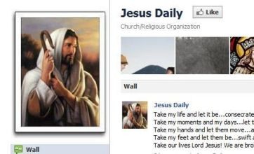 Jesus Daily Facebook fans more engaged than Justin Bieber's