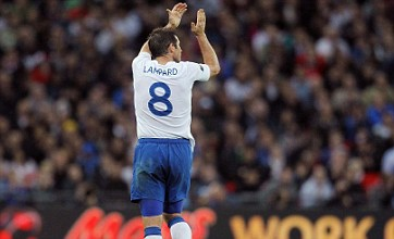 Frank Lampard: I'll fight for England starting place until I retire