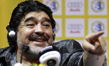 Sergio Aguero and Man City are a match made in heaven, says Maradona