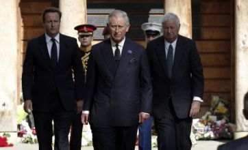Prince Charles and David Cameron join UK families for 9/11 anniversary