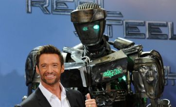 Hugh Jackman's Real Steel adventure with boxing robots 'packs a punch'
