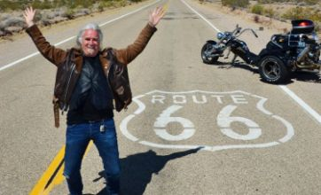 Billy Connolly's Route 66 was a televised mid-life crisis
