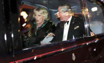 Charles and Camilla 'shock shot' wins top photography prize