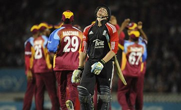 England crumble to 88 all out to hand West Indies victory in Twenty20 finale