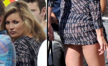 Kate Moss throws tantrum during shoot after being heckled by builders