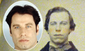 After Nicolas Cage 'vampire' pic, now pic of 'John Travolta in 1860' appears