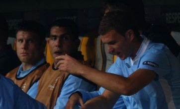 Edin Dzeko apologises to Manchester City over Bayern Munich strop