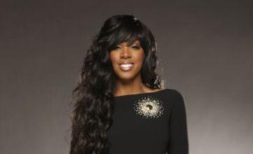Kelly Rowland on Twitter from sick bed – but no support for X Factor acts