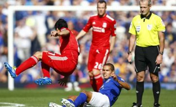 Fury over Martin Atkinson's red card for Jack Rodwell in Everton vs Liverpool derby