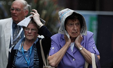 Britain set for heavy rain and snow as Hurricane Ophelia ends mini heatwave