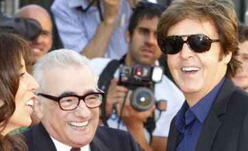 Paul McCartney and Ringo Star hail 'lovely' George Harrison at premiere
