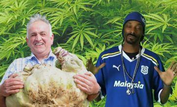 Snoop Dogg praises Welsh gardener's record-breaking swede